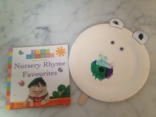 Play School book and craft