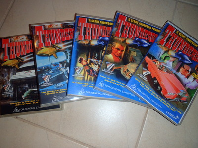 The Thunderbirds on DVD