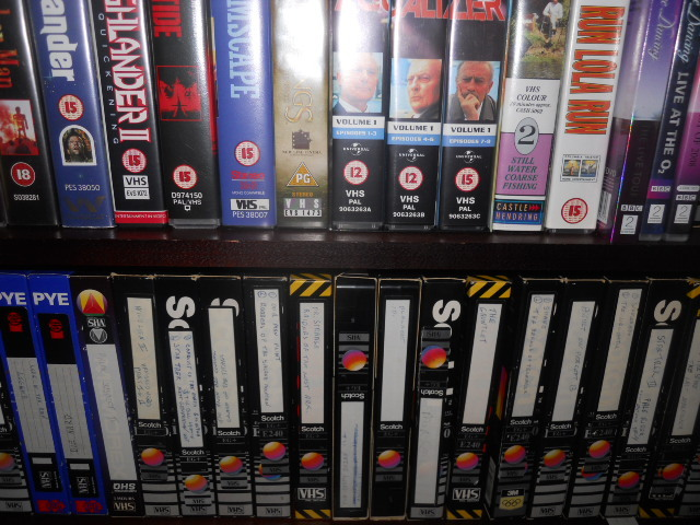 VHS, video tapes