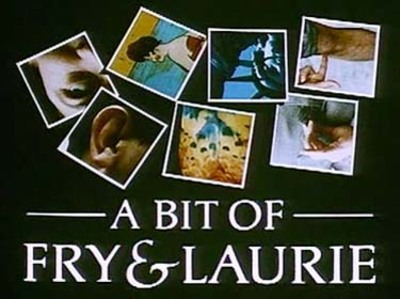 a bit of fry and laurie, comedy double act