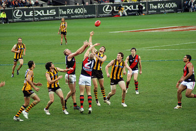 AFL (Bombers vs Hawks) Tom Reynolds from Melbourne, Australia (Wiki Creative Commons)