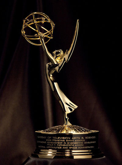 An Emmy Award Statuette
