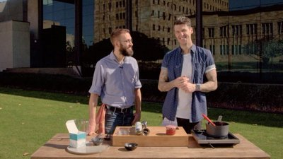 ben millbourne, Joel Gilmour, SBS food lab