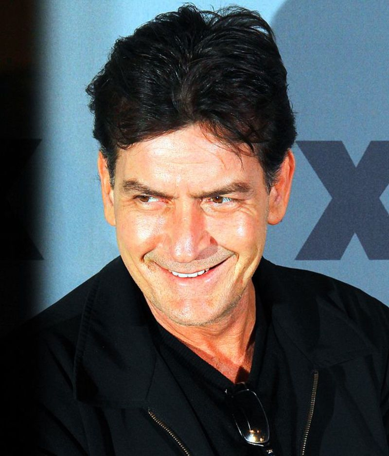 Charlie Sheen  - Would you like to see Charlie Sheen return to Two and A Half Men?