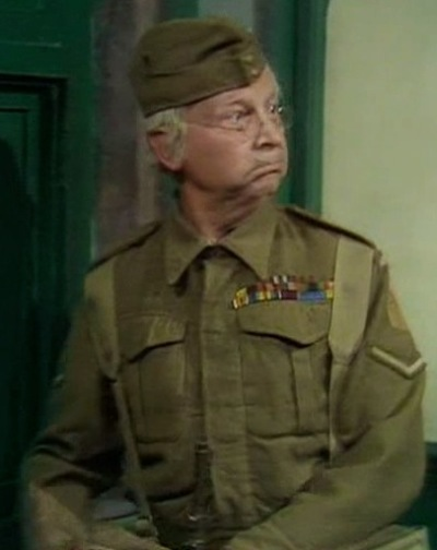clive dunn, corporeal jones, dad's army