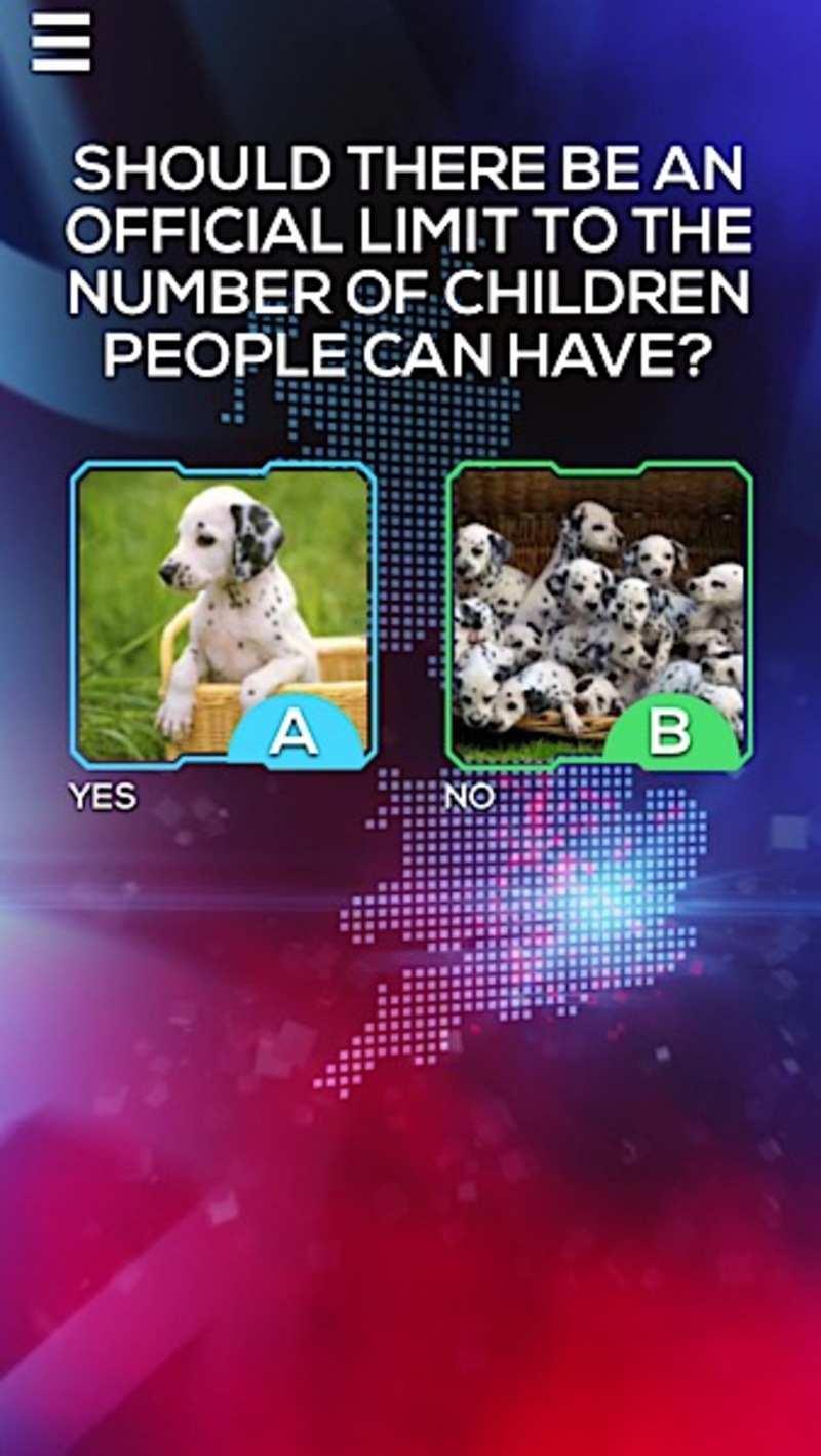 Don't ask me ask britain, app, game show