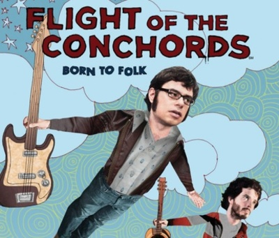 Flight of the Conchords starring Brett McKenzie and Jemaine Clement