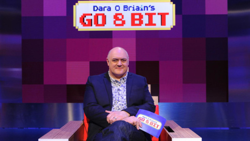 go 8 bit, dara o brian, video games, dave