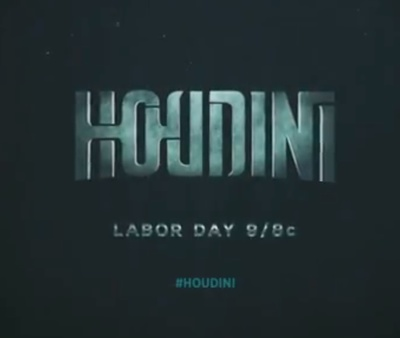 Houdini, a mini series on the History Channel
