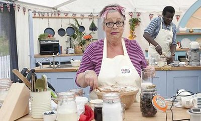 jo brand, great british bake of, an extra slice