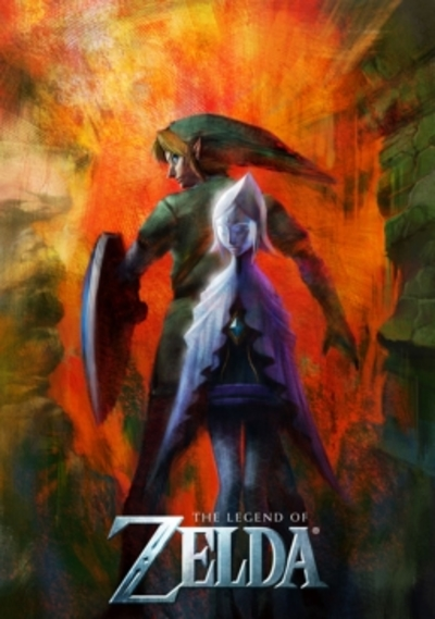 Legend of Zelda Skyward Sword E3 2009 Poster