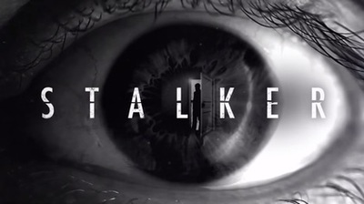 Logo for the crime drama, Stalker starring Maggie Q and Dylan McDermott
