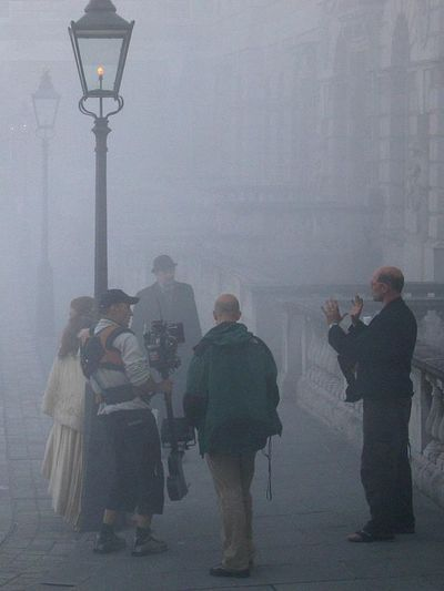 london smog, filming