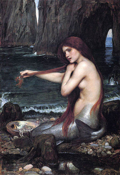 mermaid, Waterhouse