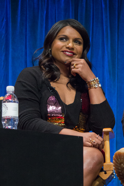 Mindy Kaling Wikimedia Creative Commons http://www.flickr.com/photos/82924988@N05/15721436097/ iDominick