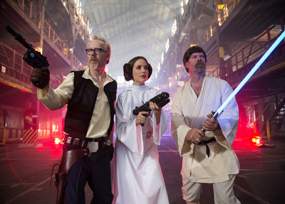 Mythbusters Star Wars