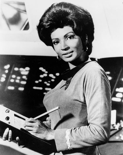nichelle nichols, uhrura, star trek