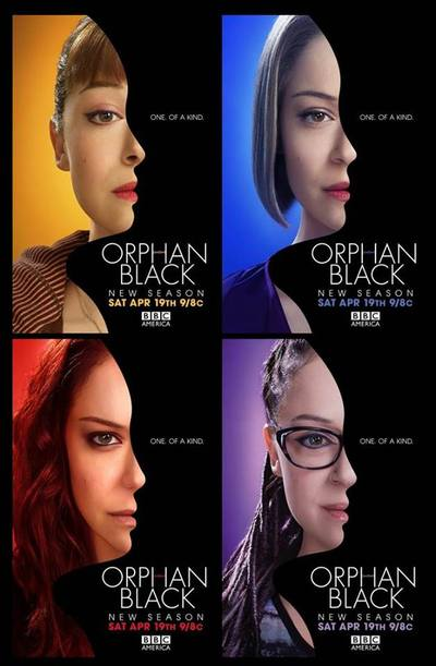 Orphan Black promo poster