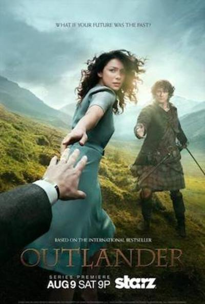 Outlander TV Poster for Starz
