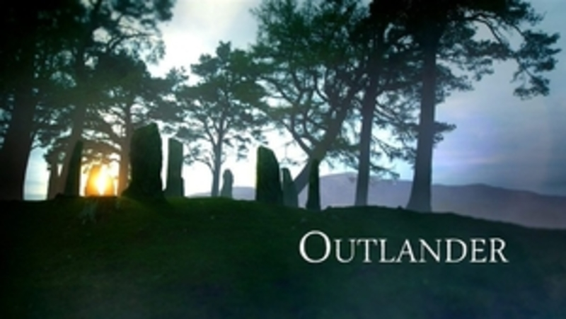 Outlander, Outlander series title card