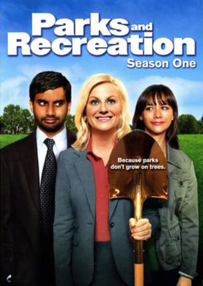 Parks and Recreation Season 1 DVD cover
