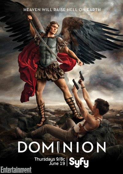 Poster for the Syfy Original series Dominion
