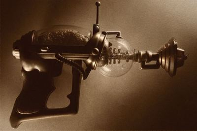 science fiction, ray gun