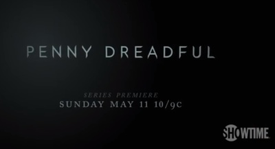 Screenshot from the Penny Dreadful premiere Trailer