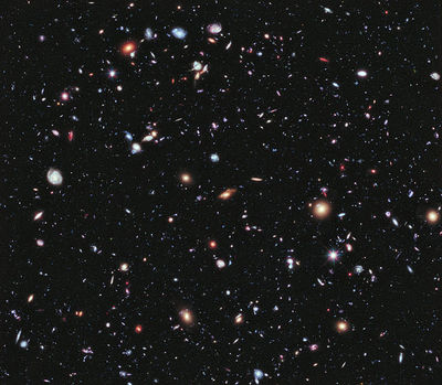 space, universe, constellations