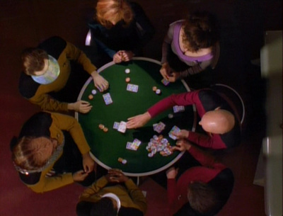 star trek, the next generation, all good things, poker