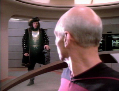 star trek, the next generation, encounter at far point, picard, q