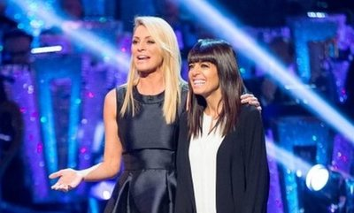 strictly come dancing, claudia winkleman, tess daly