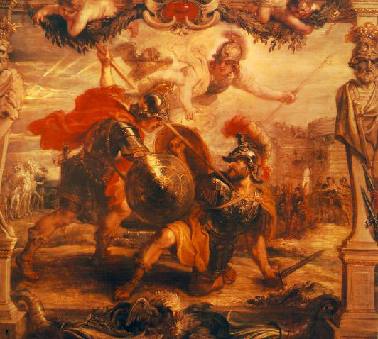 the theme of wrath rage and anger in the story the iliad