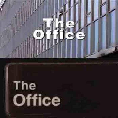 Title cards of the US and UK office