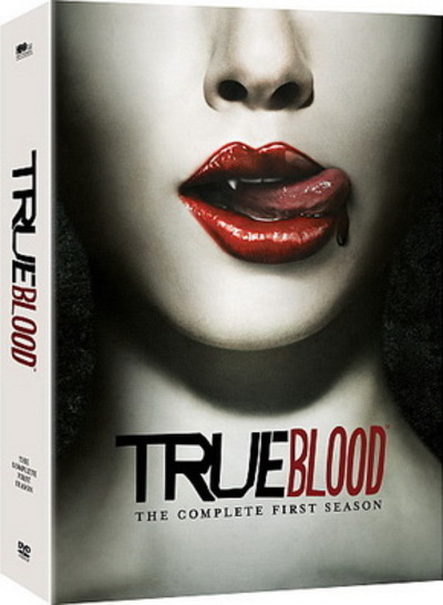 True Blood Season One DVD box cover